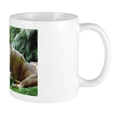 Affectionate Lions Mug