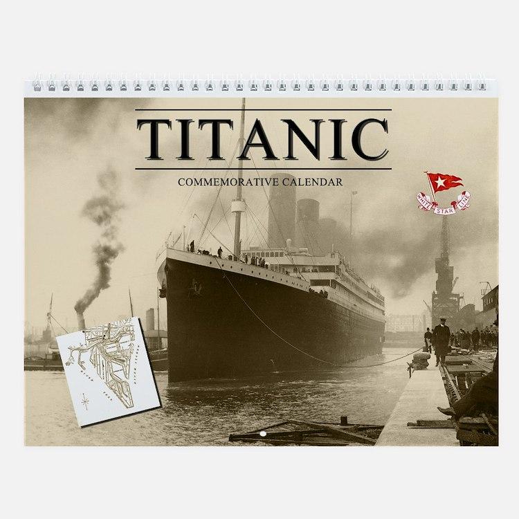 Titanic Commemorative Wall Calendar