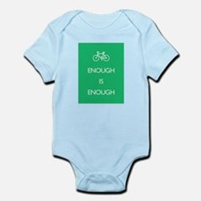 Enough Is Enough var Bike Infant Bodysuit