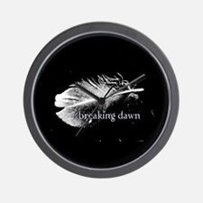 Breaking Dawn Feather by Twibaby Wall Clock