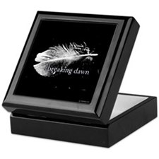 Breaking Dawn Feather by Twibaby Keepsake Box