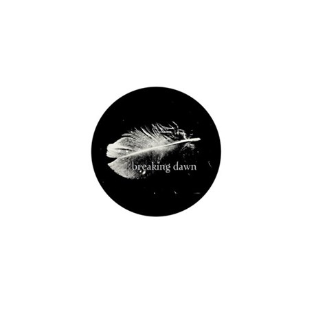 Breaking Dawn Feather by Twibaby Mini Button