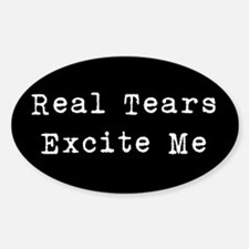 Real Tears Decal