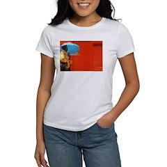 Umbrella Series: Red Women's T-Shirt