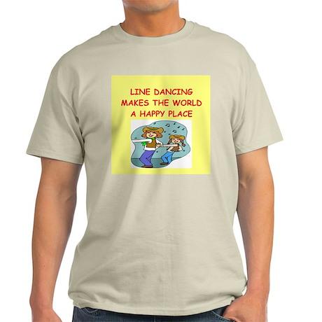 line dancing Light T-Shirt