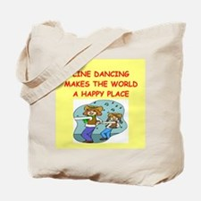 line dancing Tote Bag