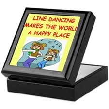 line dancing Keepsake Box