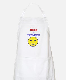 I am Awesome (personalized) Apron