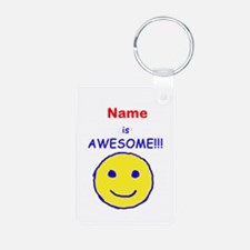 I am Awesome (personalized) Keychains