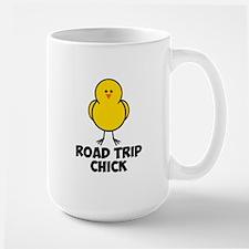 Road Trip Chick Mug