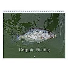 Crappie Fishing Wall Calendar