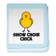 Show Choir Chick baby blanket