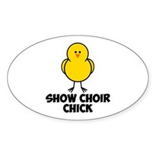 Show Choir Chick Decal