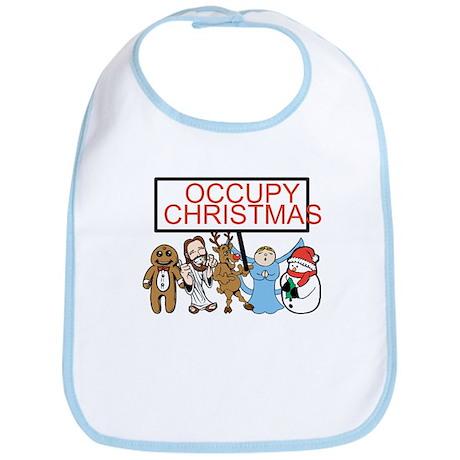 Occupy Christmas Bib