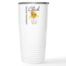 Dental Assistant Chick Travel Coffee Mug