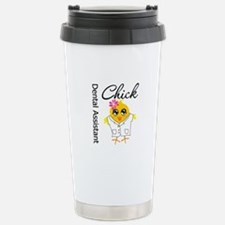Dental Assistant Chick Travel Mug