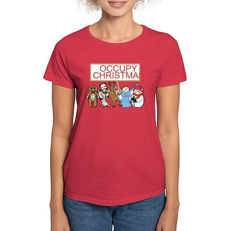 Occupy Christmas Women's Dark T-Shirt