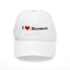 I Love Herman Baseball Cap
