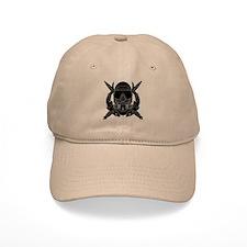 Combat Diver B-W Baseball Cap