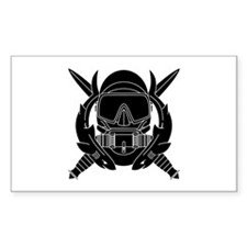 Combat Diver B-W Decal