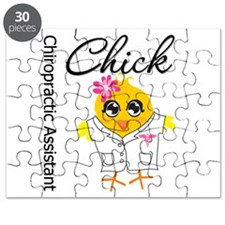 Chiropractic Assistant Chick Puzzle
