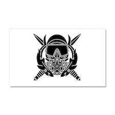 Combat Diver Supervisor B-W Car Magnet 20 x 12