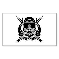 Combat Diver Supervisor B-W Decal