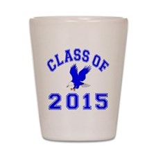 Class Of 2015 Eagle Shot Glass