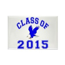 Class Of 2015 Eagle Rectangle Magnet