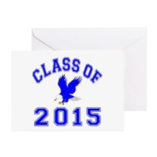 Class Of 2015 Eagle Greeting Card