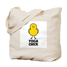 Yoga Chick Tote Bag