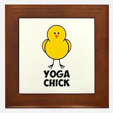 Yoga Chick Framed Tile