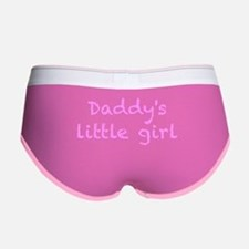 Daddy's Little Girl Women's Boy Brief