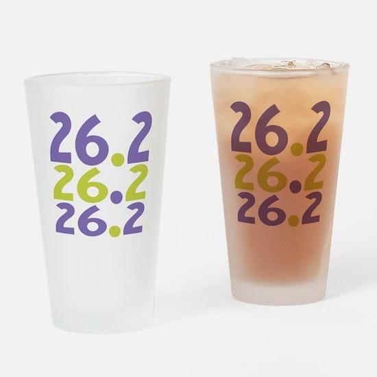 26.2 Marathon Drinking Glass