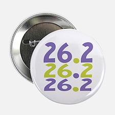 """26.2 Marathon 2.25"""" Button"""