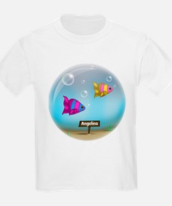 Under the Sea - Fish Bowl - T-Shirt