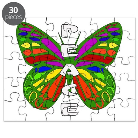 Peace Butterfly Puzzle
