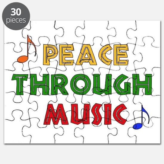 Peace Through Music Puzzle