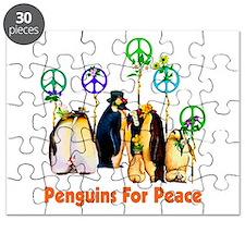 Peace Penguins Puzzle