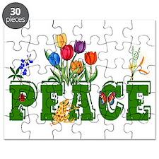 Peace Garden Puzzle