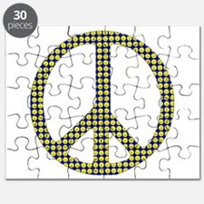 Smiley Face Peace Puzzle