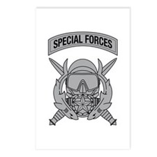 Combat Diver Supervisor w Tab Postcards (Package o