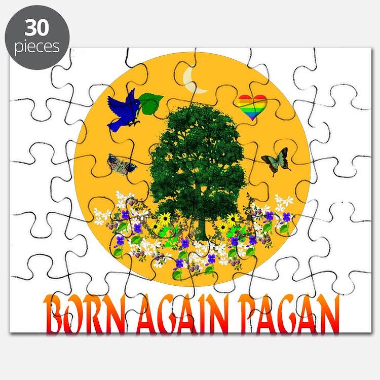 Born Again Pagan Puzzle