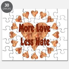 More Love Less Hate Puzzle