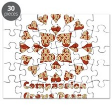 Compassion Grows Peace Puzzle