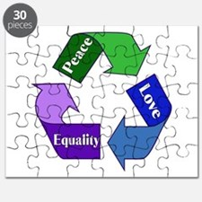 Peace Love Equality Puzzle