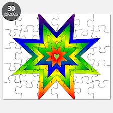 Rainbow Star Puzzle