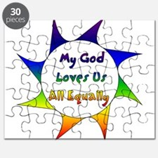 My God Loves Us All Equally Puzzle