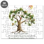 Kenyan Nature Proverb Puzzle