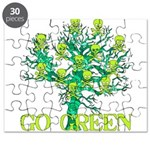 Earth Day Skulls Puzzle